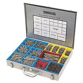 Turbo Ultra Woodscrews Builder Trade Case Double-Self-Countersunk Pk2000