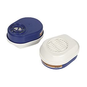 Dräger Painters Mask Filter A2-P3 Pack of 2