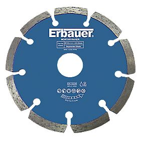 Erbauer Diamond Mortar Rake Blade 115 x 6.4mm