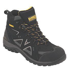 DeWalt Driver Safety Boots Black Size 7