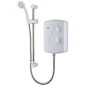 Triton Enrich Manual Electric Shower White 10.5kW