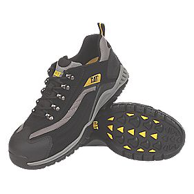 Cat Moor Safety Trainers Black Size 9