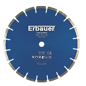 Erbauer Diamond Blade Medium/Hard 300x20mm