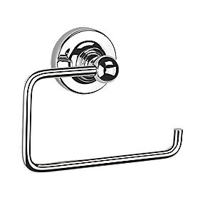 Croydex Flexi-Fix Worcester Toilet Roll Holder Chrome-Plated