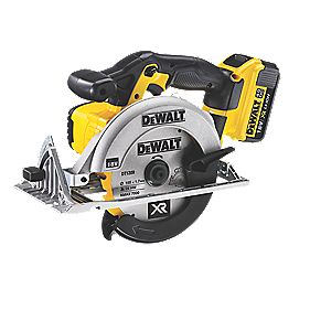 DeWalt DCS391M2-GB 165mm 4Ah Li-Ion Cordless Circular Saw 18V