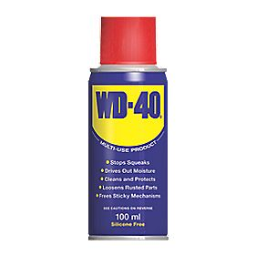 WD-40 Pocket-Size Aerosol Lubricant 100ml