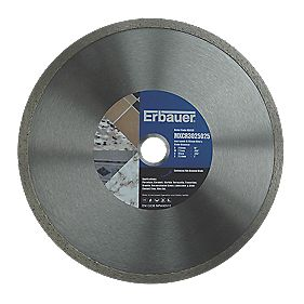 Erbauer Diamond Tile Blade 250mm