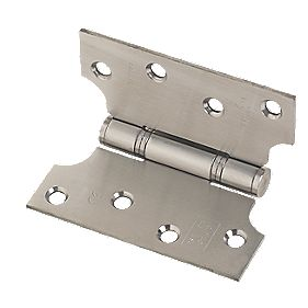 Eclipse Parliament Grade 13 Hinge Satin Stainless Steel 102 x 102mm Pk2