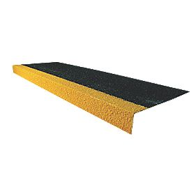 COBA Europe Cobragrip GRP Slip-Resistant Stair Tread Cover 345 x 55 x 1000mm