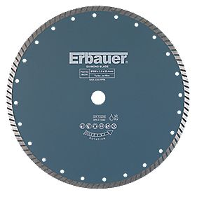 Erbauer Turbo Jet Diamond Tile Blade 350 x 25.4mm