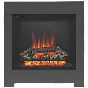 Be Modern Serena Eco Contemporary Electric Fire Anthracite Finish 2kW