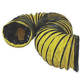 Stanley Flexible PVC Ducting 5m x 200mm