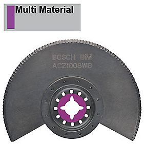 Bosch BiM Serrated Segment Blade 100mm