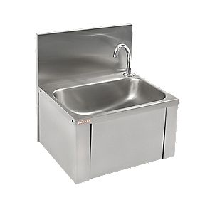 Franke SCRANMX206 Knee Operated Wall-Hung Washbasin 1 Tap Hole 460mm