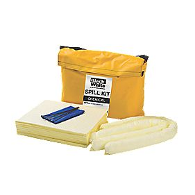 Lubetech Black & White Chemical Spill Response Kit 50Ltr