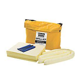 Lubetech 50Ltr Black & White Chemical Spill Response Kit