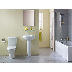 Ideal Standard Alto Bathroom Suite with Acrylic Bath