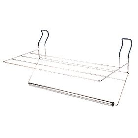 Croydex Hook-Over Towel Rack