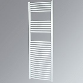 Kudox Curved Towel Radiator White 1500 x 500mm 693W 2365Btu