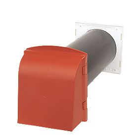 Manthorpe Core Vent Terracotta 127 x 350mm