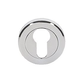 Serozzetta Euro Escutcheon Chrome Plated 50mm