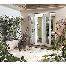 Jeld-Wen Wellington Slide & Fold Patio Door Set Pre-Finished 2394 x 2094mm