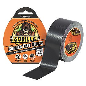 Gorilla Glue Cloth Tape 48 Mesh Black 48mm x 11m