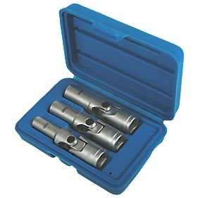 "Laser Glow Plug Socket Set 3/8"" 3 Pieces"
