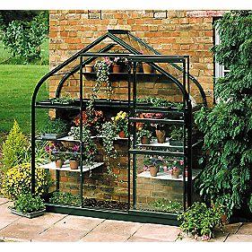 Halls Supreme Wall Garden Greenhouse Green x x