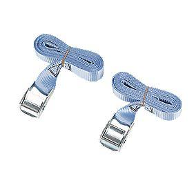 Cambuckle Tie-Down Straps 2.5m x 25mm 2 Piece Set
