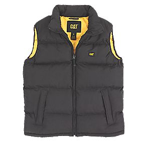CAT C430 Body Warmer Black Large 42-44""