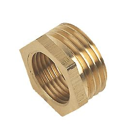 "Brass Bush ½"" x 3/8"""