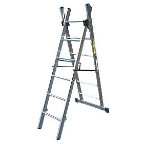 Lyte SF2CL6 Combination Ladder 6 Rungs