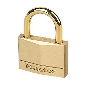 Master Lock Brass Padlock 45mm