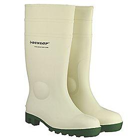 Dunlop. Protomastor FS1800/171BV Wellington Boots White Size 6