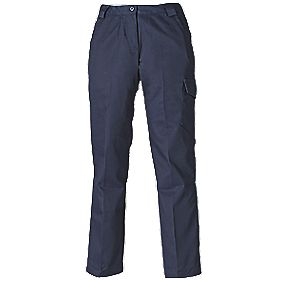 "Dickies Redhawk Ladies Trousers Size 10 31"" L"
