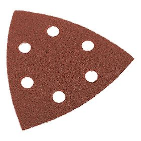 Norton Detail Sanding Sheets Aluminium Oxide 95 x 95mm 80 Grit Pack of 10
