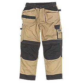 "Site Mastiff Trousers Stone 42"" W 32"" L"