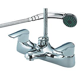 Bristan Tresco Bath / Shower Mixer Bathroom Tap Chrome-Plated