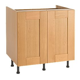 Unbranded Golden Oak Base Unit Standard 800mm