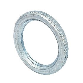20mm Milled Edge Galvanised Lockrings - Pk 10