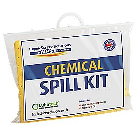 Lubetech 15Ltr Chemical Spill Kit