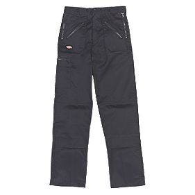"Dickies Redhawk Action Trousers Black 30"" W 32"" L"