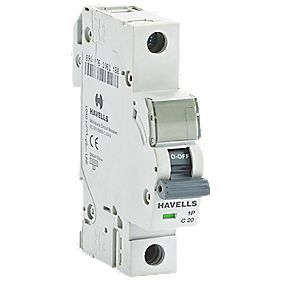 Havells 20A Single-Pole Type C MCB