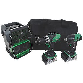 Hitachi KTL218S 18V 3Ah Li-Ion Cordless Triple Pack