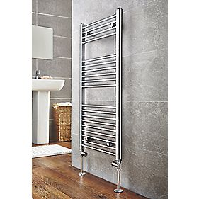 Kudox Flat Ladder Towel Radiator Chrome 500 x 1000mm 273W 932Btu