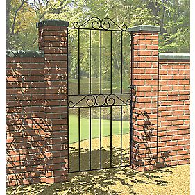 Metpost Ironbridge Gate Zinc-Plated 810 x 1800mm