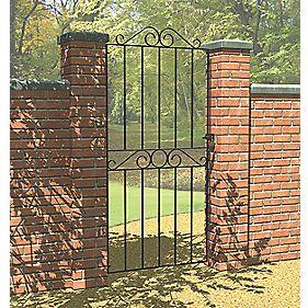 Metpost Ironbridge Ironbridge Gate Zinc-Plated 810 x 1800mm