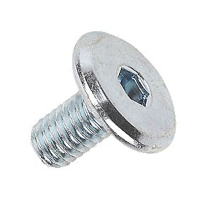 Joint Connector Bolts M6 x 12 BZP Pack of 50