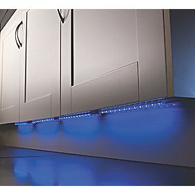 LAP Avi Cabinet Striplight 300mm Blue LED 0.05W